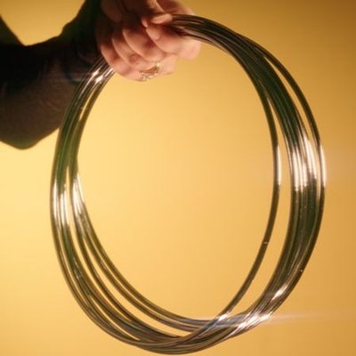 "CHINESE LINKING RINGS- 10"" CHROMED"