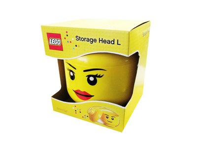 LEGO Säilytyslaatikko, Lego-pää L