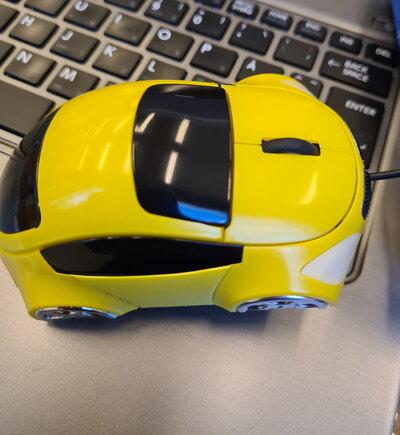 Optinen hiiri, auto