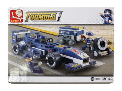 Sluban - Formula varikko