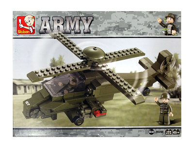 Sluban Army - Helikopteri ja sotilaat