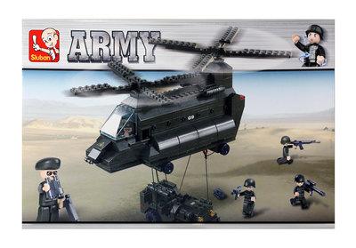 Sluban Army - Kuljetushelikopteri, ajoneuvo ja sotilaat