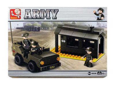 Sluban Army - Rajavartio ja sotilasajoneuvo