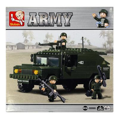 Sluban Army - Sotilasajoneuvo ja sotilaat