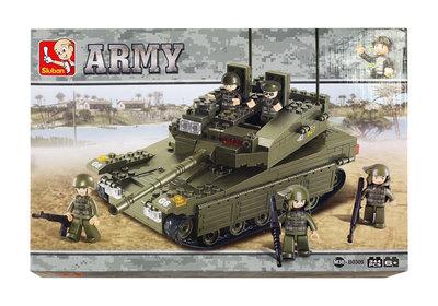 Sluban Army - Tankki ja sotilaspartio