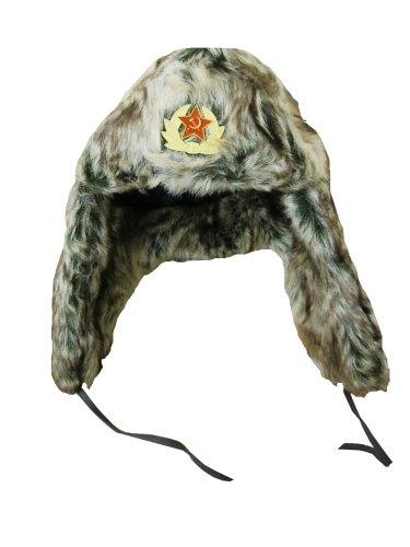 Venäläinen Ushanka karvahattu
