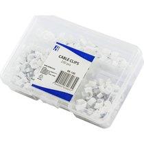 Kaapelikiinnikkeitä (230 kpl)