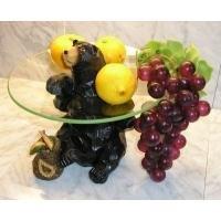 Karhuaiheinen hedelmätarjotin