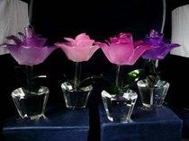 Kristalli- ja lasitaidetta - Tulppaanit